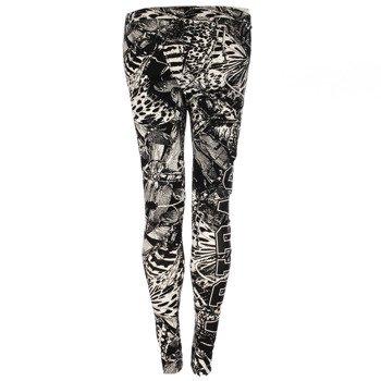 spodnie sportowe damskie ADIDAS ALLOVER LEGGINGS / M30326