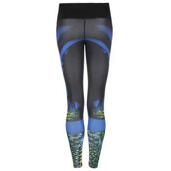spodnie sportowe damskie ADIDAS GO TO GEAR TIGHT LONG ALLOVER PRINTED / A99661