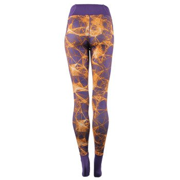 spodnie sportowe damskie ADIDAS SUPER LONG TIGHT ALLOVER PRINTED / AY3160