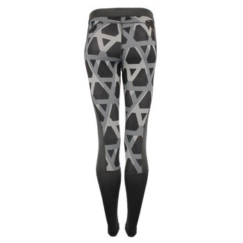 spodnie sportowe damskie ADIDAS TECHFIT LONG TIGHT PRINT 1 / AJ2300