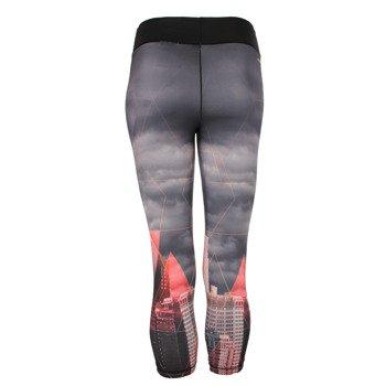 spodnie sportowe damskie ADIDAS WORKOUT 3/4 TIGHT CITY / AJ5065