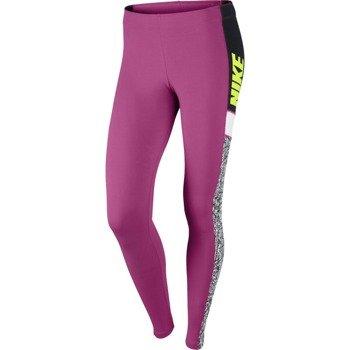 spodnie sportowe damskie NIKE CLUB COLOR BLOCK / 643043-612