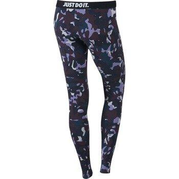 spodnie sportowe damskie NIKE LEG-A-SEE ALLOVER PRINTED / 678856-065