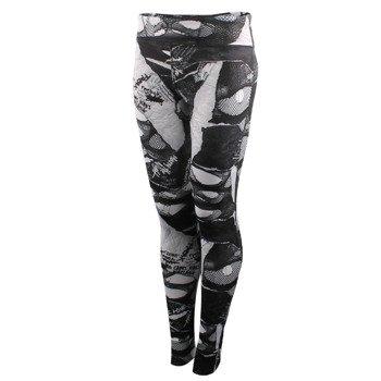spodnie sportowe damskie REEBOK SHREDDED PUNK TIGHT / S93771