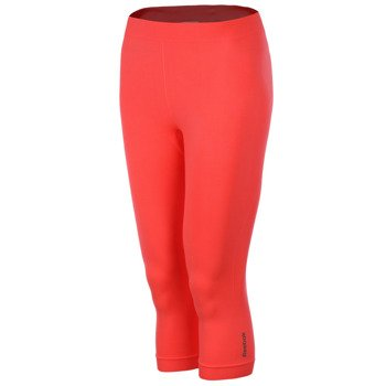 spodnie sportowe damskie REEBOK SPORT ESSENTIALS SEAMLESS CAPRI