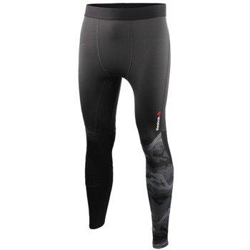 spodnie sportowe męskie REEBOK ONE SERIES ACTIVCHILL PW3R COMPRESSION TIGHT / AJ0821