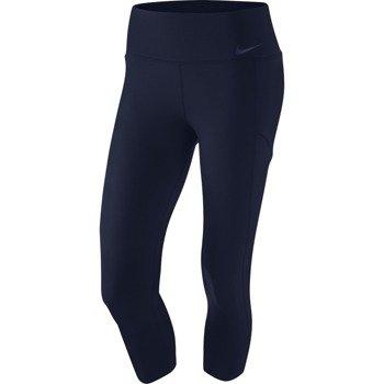 spodnie tenisowe damskie NIKE BASELINE CAPRI / 728787-451