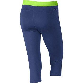 spodnie termoaktywne damskie 3/4 NIKE PRO CAPRI / 589366-456
