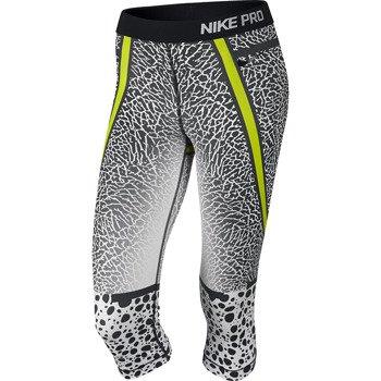 spodnie termoaktywne damskie 3/4 NIKE PRO FEMALE SAFARI CAPRI / 638204-100