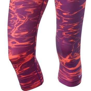 spodnie termoaktywne damskie NIKE PRO POOL CAPRI / 618858-519
