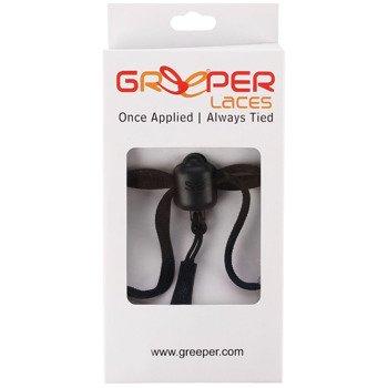 sznurówki zaciskowe GREEPER SPORT (1 para) / BLACK
