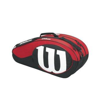 torba tenisowa WILSON MATCH II 6 PACK BAG / WRZ820606