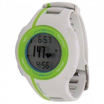 zegarek sportowy GARMIN FORERUNNER 210 HR white/green / 010-00863-42
